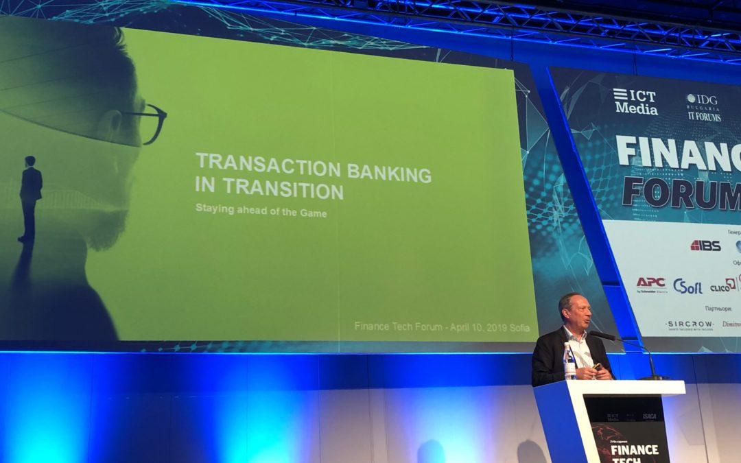 Еволюцията в транзакционното банкиране – предимството да сме сред първите